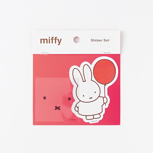 miffy ステッカーセット<balloon> BM-021