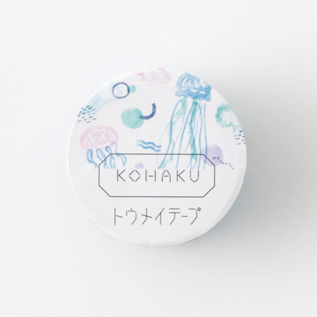 KOHAKU トウメイテープ<jellyfish> KK-012
