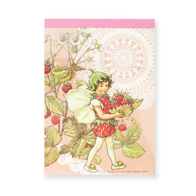 FLOWER FAIRIES メモパッド <Strawberry>