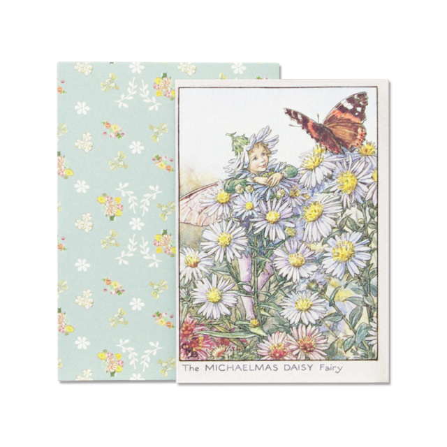 FLOWER FAIRIES グリーティングカードセット<Michaelmas Daisy>