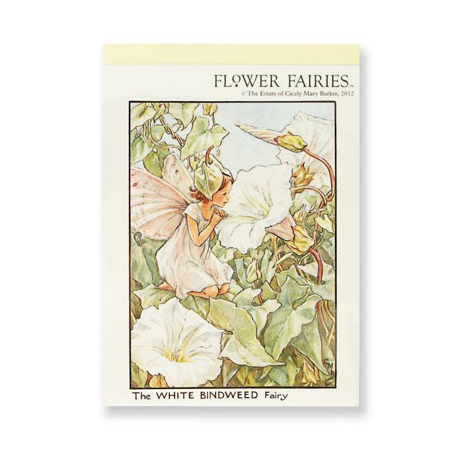 FLOWER FAIRIES メモパッド<Whitebindneed>