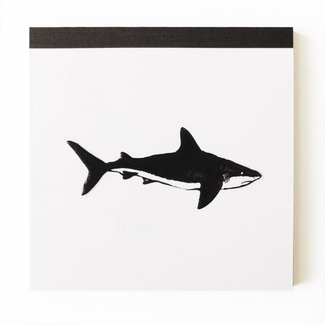 Animal Series メモパッド・スクエア<サメ>GF-028