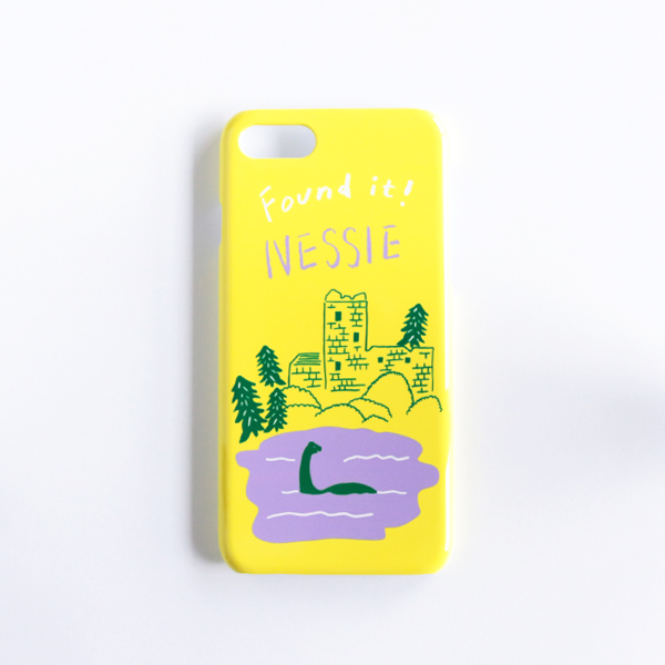 【オンラインショップ限定販売】iPhone7ケース HND-010nessie