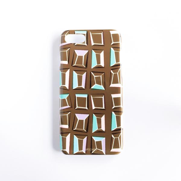 【オンラインショップ限定販売】iPhone7ケース HND-015chocolate