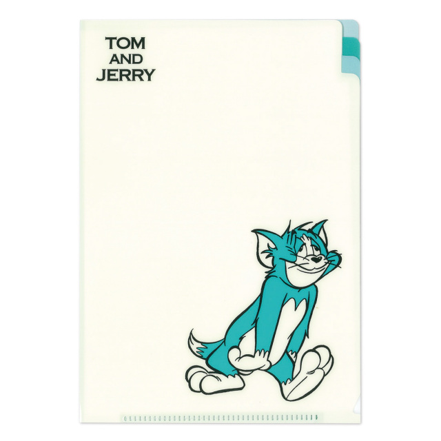 TOM and JERRY A5クリアファイル<トム・ブルー>