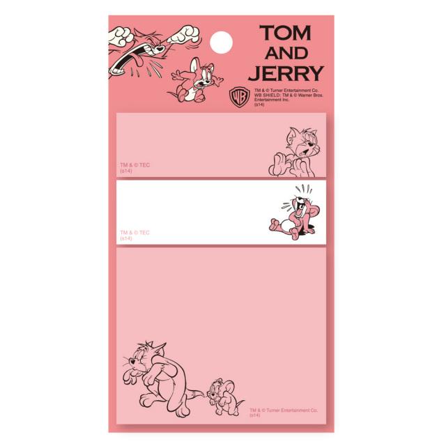 TOM and JERRY スティッキーメモ<トム&ジェリー・レッド>