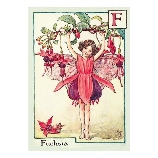 FLOWER FAIRIES ポストカード<Fuchsia Fairy>