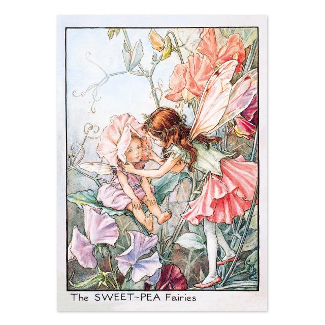 FLOWER FAIRIES ポストカード<Sweet-Pea Fairy>