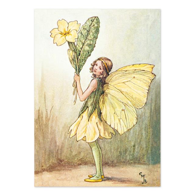 FLOWER FAIRIES ポストカード<Primrose Fairy>