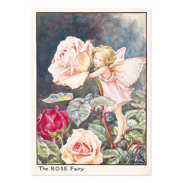 FLOWER FAIRIES ポストカード<Rose Fairy>