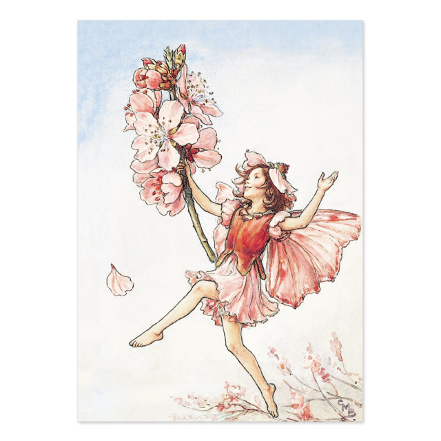 FLOWER FAIRIES ポストカード<Almond Blossom Fairy>