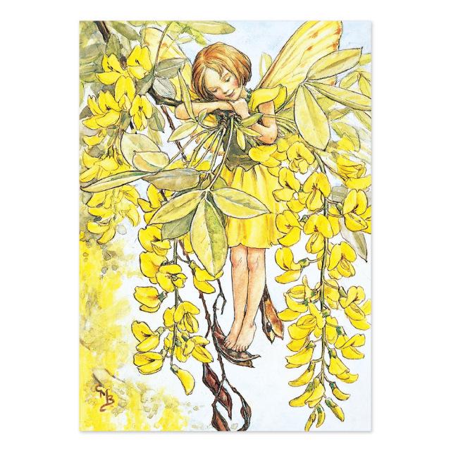 FLOWER FAIRIES ポストカード<Laburnum Fairy>