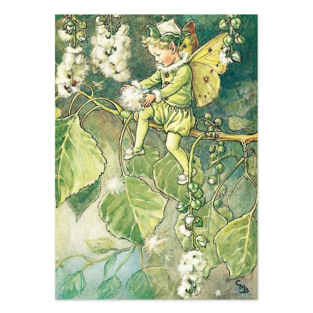 FLOWER FAIRIES ポストカード<The Poplar Fairy>