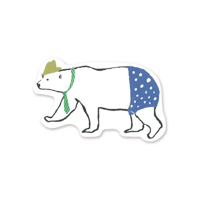 Animal Series ミニカード<シロクマ>