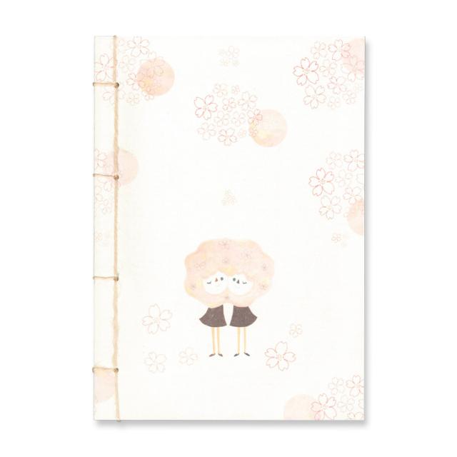 こてもと 和綴じノート<桜>