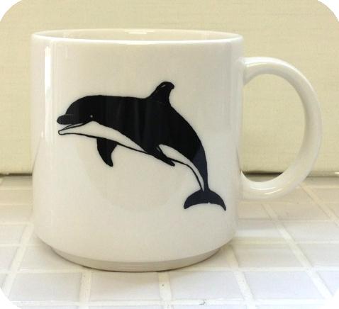 Animal Series マグカップ<イルカ> JA1105