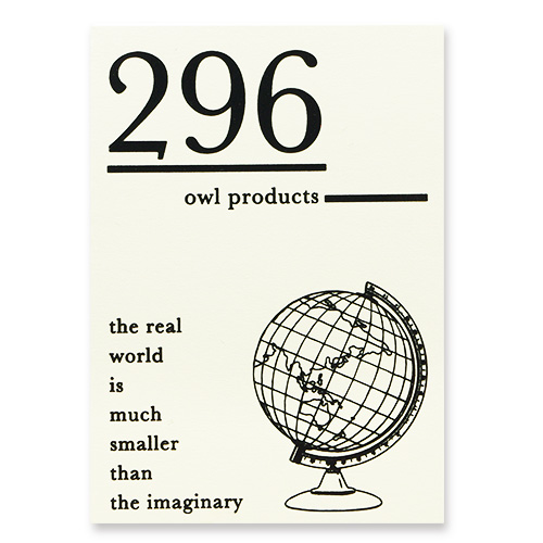 Owl products メモパッド<296>