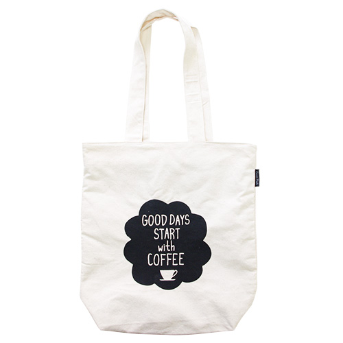 Owl products トートバッグ<coffee>