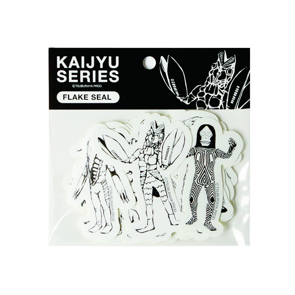 KAIJYU SERIES フレークシールA【バルタン星人】【ダダ】【ゼットン】【ガッツ星人】【ジャミラ】【メトロン星人】【エレキング】