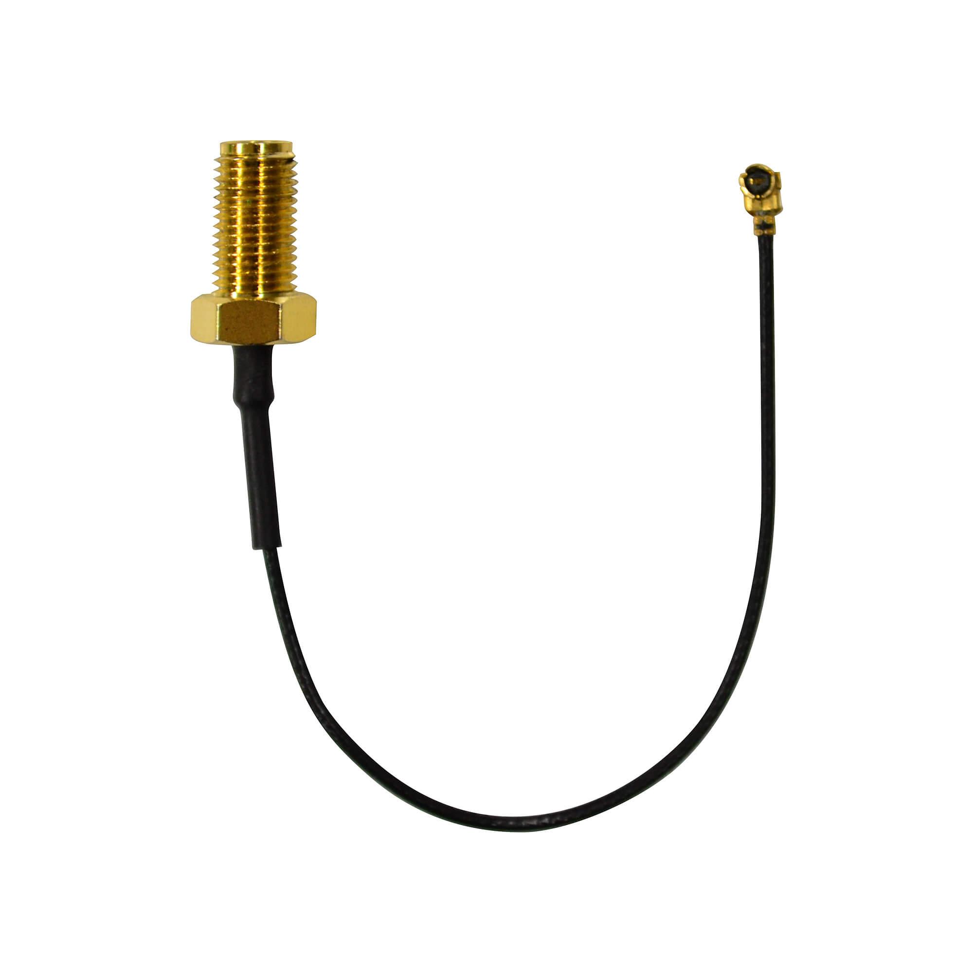 【付属品】アンテナ変換ケーブル  10cm SMAメス-UFLメス ANT-CBL グリーンハウス