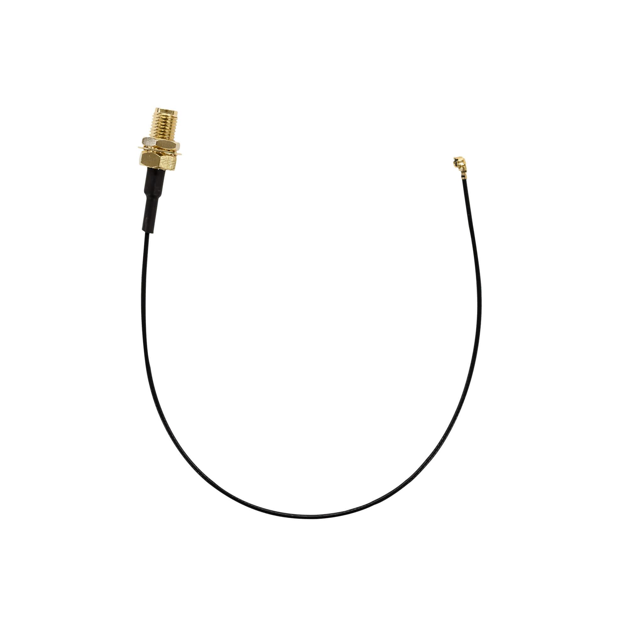 【付属品】アンテナ変換ケーブル  20cm SMAメス-UFLメス ANT-CBL20 グリーンハウス