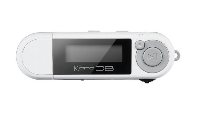 乾電池対応 MP3プレーヤー KANA DB 「GH-KANADB8-WH」 ホワイト