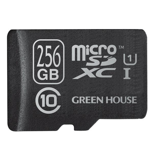 256GB microSDXCカード UHS-1 Class10 防水設計 「GH-SDMRXCUB256G」 R=80MB/s W=12MB/s