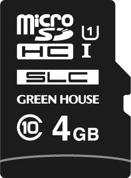 組み込み機器で幅広く使える工業用途microSDHCカード 4GB 「GH-SDMI-XSA4G」 動作温度-40℃~85℃
