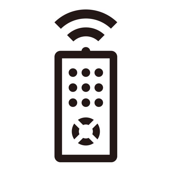 【付属品】ポータブルDVDプレーヤー GH-PDV7A/B/Z用リモコン 「PDV7A-RC」