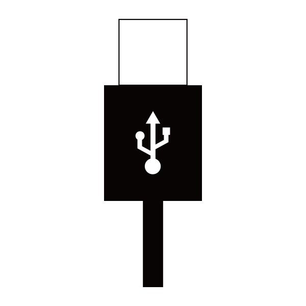 【付属品】MP3/デジタルオーディオプレーヤー GH-KANASPシリーズ専用USBケーブル 「KANASP-USB」