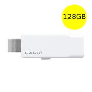 GAUDI USBメモリ 128GB シンプルコンパクトデザイン USB3.0 スライド式 GUD3A128G