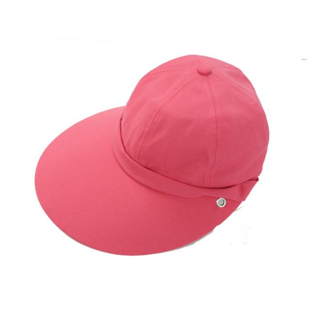 キャディ帽子 (ピンク)<特価品>