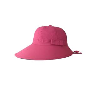 キャディ帽子 (ピンク・つば広)