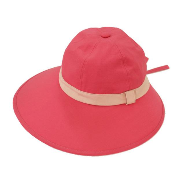 キャディ帽子(ピンク×ライトピンク)