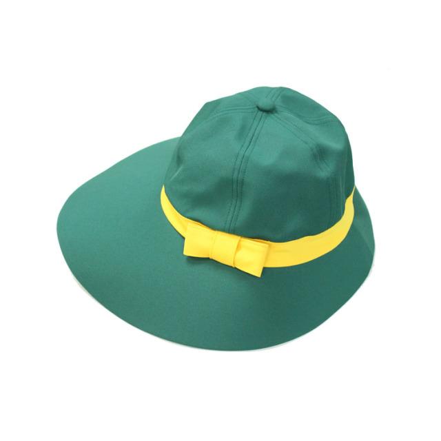 キャディ帽子 (グリーン×イエロー)<特価品>