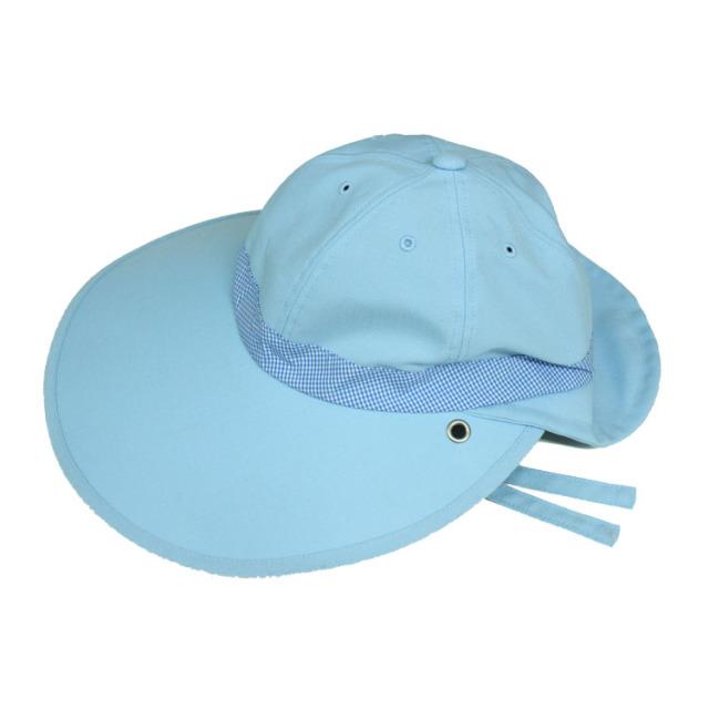 キャディ帽子 (ライトブルー)<特価品>