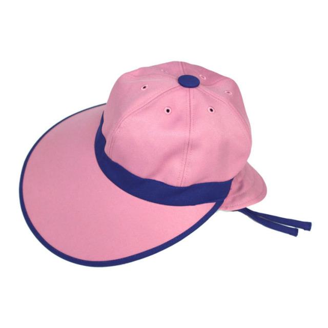 キャディ帽子 (ピンク×ブルー)<特価品>