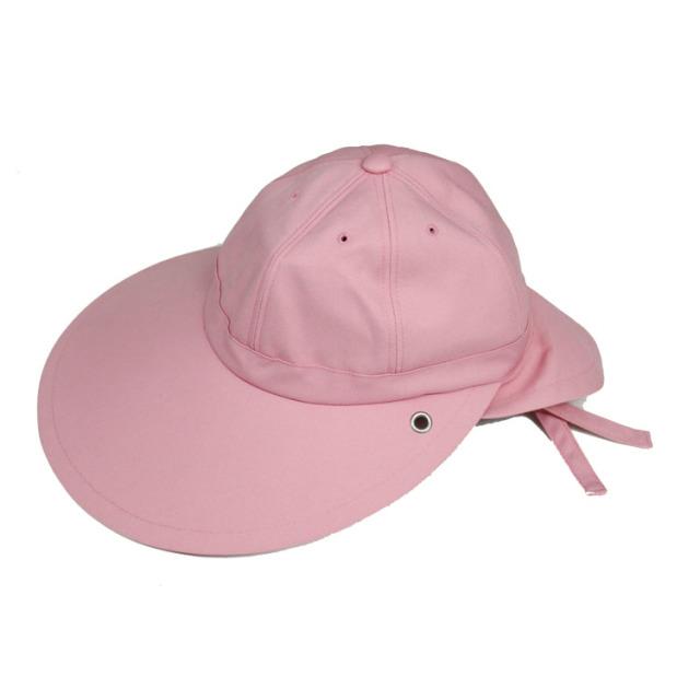 キャディ帽子 (ライトピンク)<特価品>