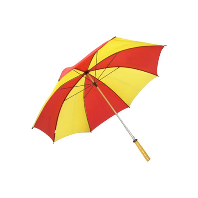 ゴルフ傘 赤×黄(2色コンビ)