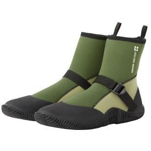 完全防水ブーツ ショート(グリーン)