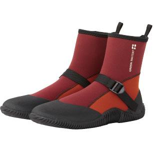 完全防水ブーツ ショート(レッド)