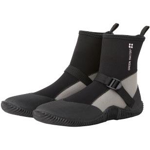 完全防水ブーツ ショート(ブラック×グレー)