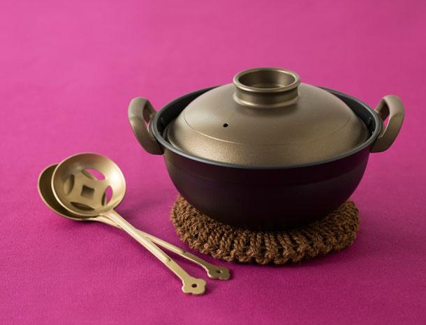 ウー・ウェンさんの煮鍋セット