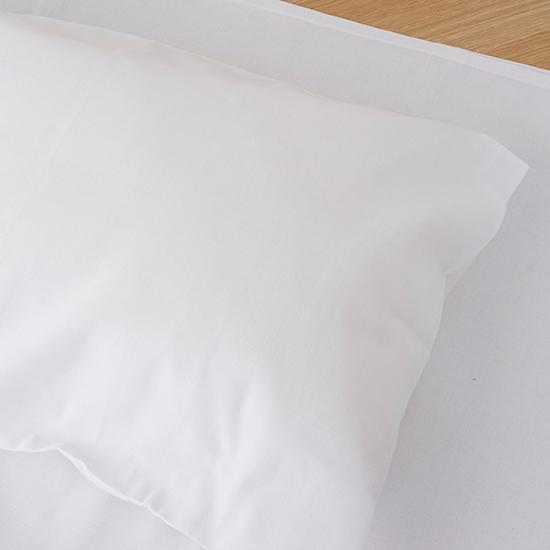 保多織和布団用ピローケース(ホワイト)