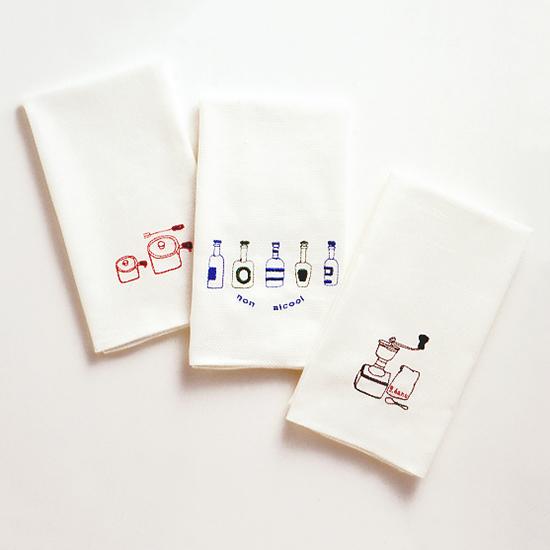 オリジナルキッチンクロス  3柄袋入り