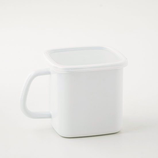 ホワイトシリーズ 持ち手付きストッカーL