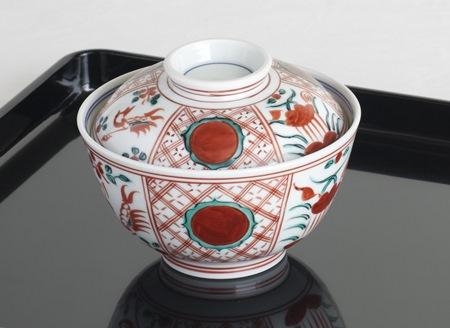 赤絵のお茶碗