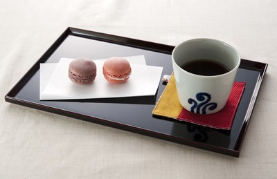 溜 茶菓盆