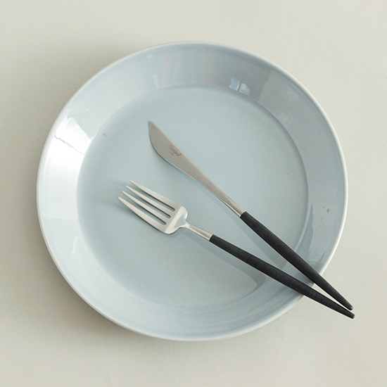 チポールカトラリー ブラック/デザートフォーク