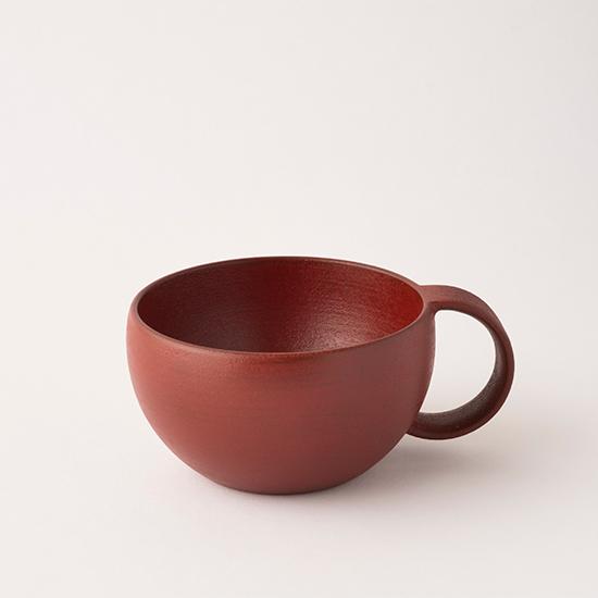漆のマグカップ 小 赤